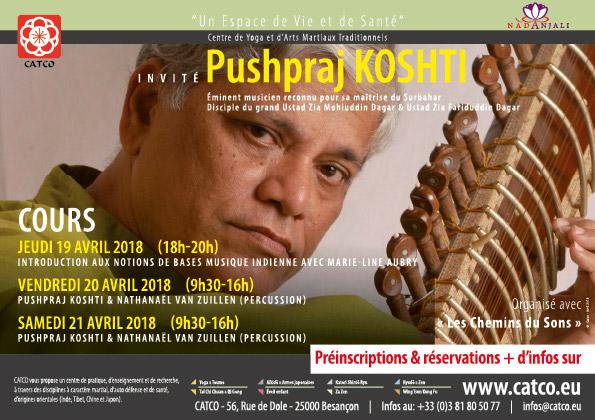 Stage Pushpraj KOSHTI Catco